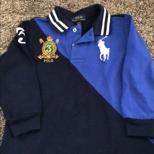 Polo vest and long sleeve T-Shirt